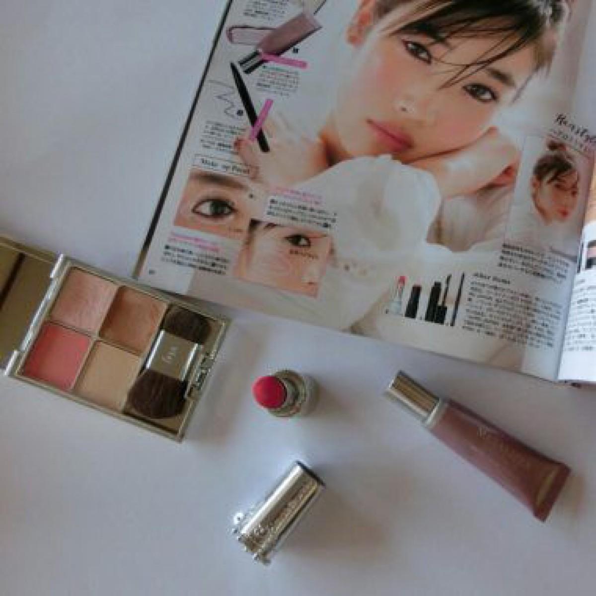 【VOCE9月号】千吉良恵子さんの「新愛され顔」メイクやってみました♡