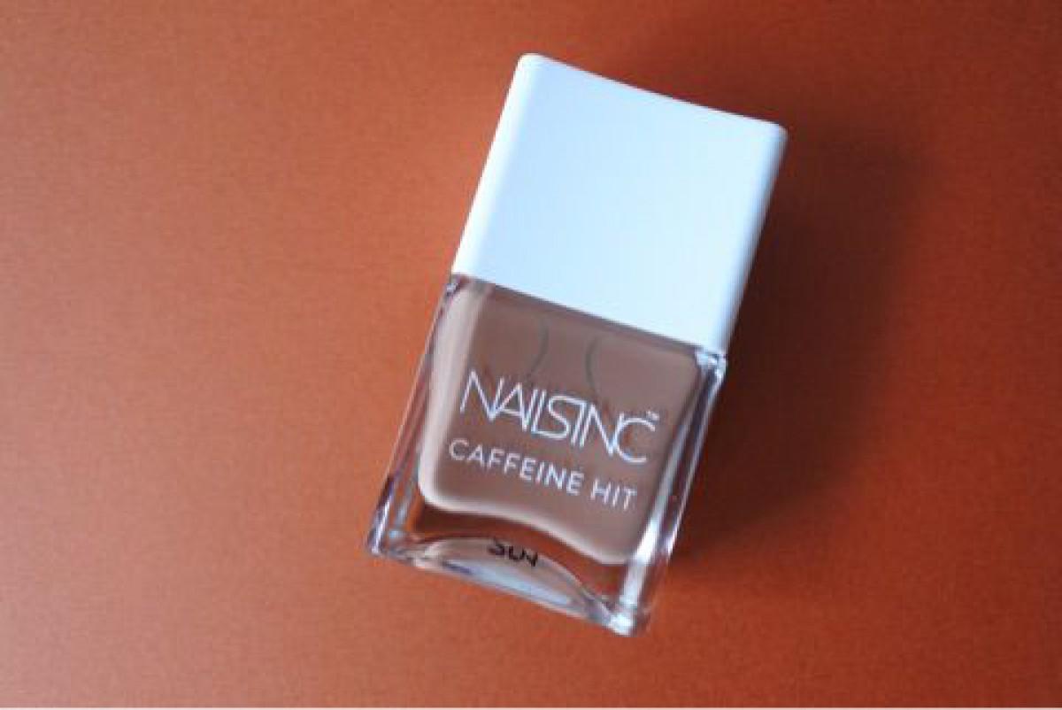 カフェ色ネイル・NAILSINC