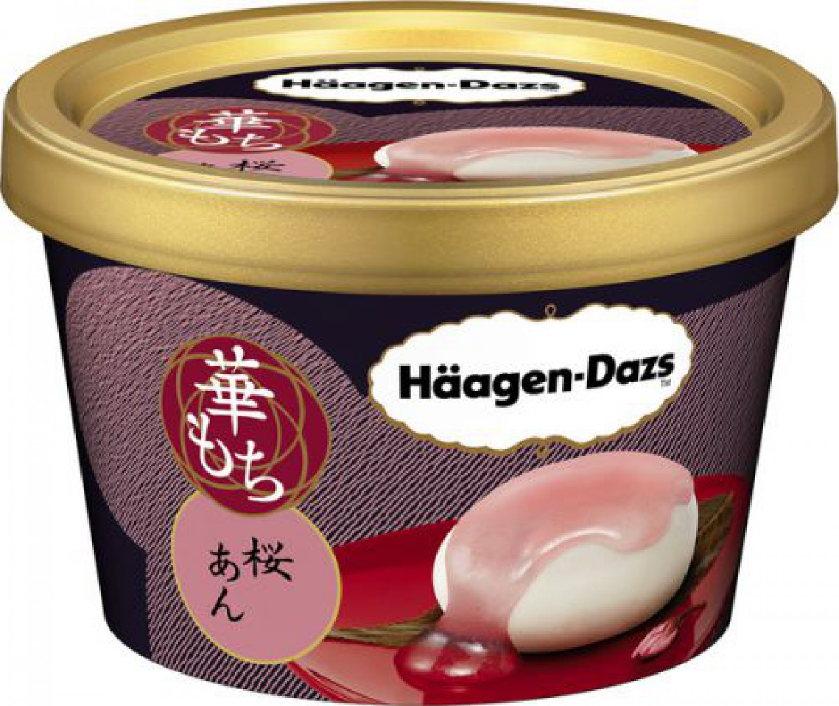 ハーゲンダッツの華もちシリーズに新商品「栗あずき」「桜あん」