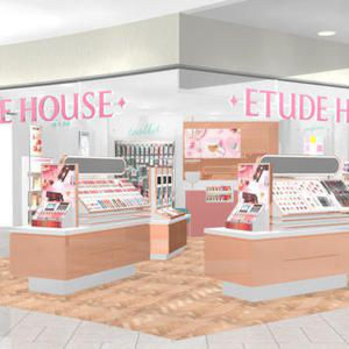 「エチュードハウス」天王寺ミオ店がリニューアル、メイク体験ができる店舗に