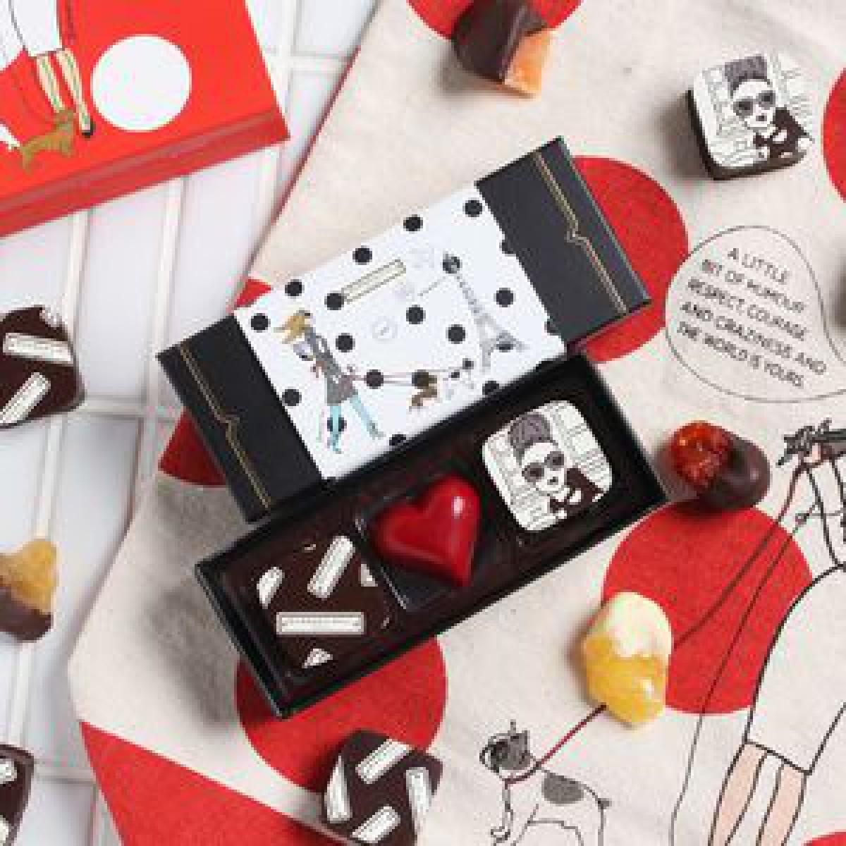 LA発チョコレート「コンパーテス」×「VIA BUS STOP」バレンタイン限定商品を発売