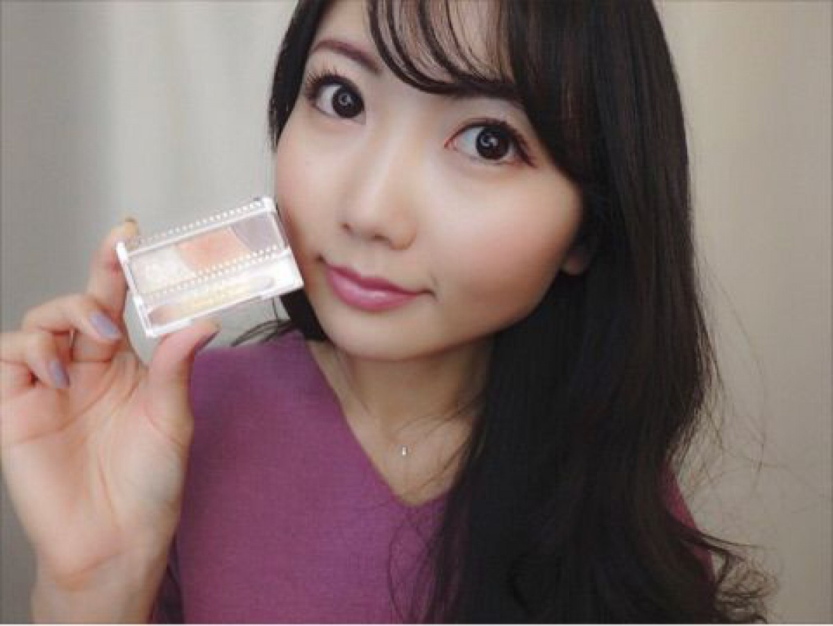 【YouTube】春のオレンジカシスメイク♡《フルメイク動画》