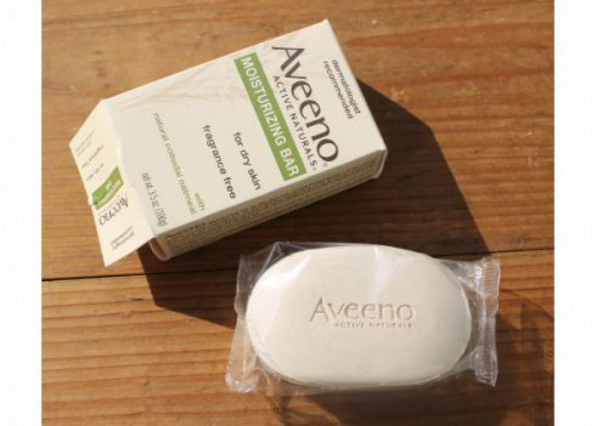 オートミールの乾燥しない石鹸 Aveenoモイスチャライジングバー