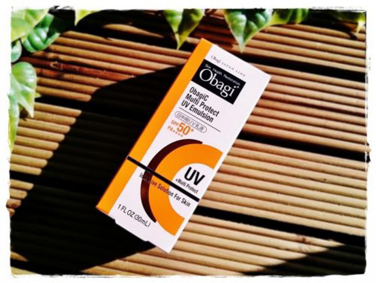 ビタミンC配合のおすすめ日焼け止め オバジC マルチプロテクトUV乳液