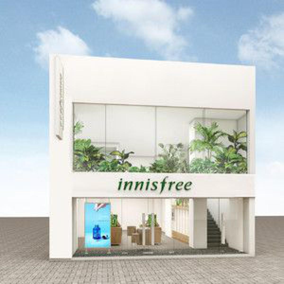 韓国コスメ「イニスフリー」日本2号店が竹下通りに、VRコーナーも