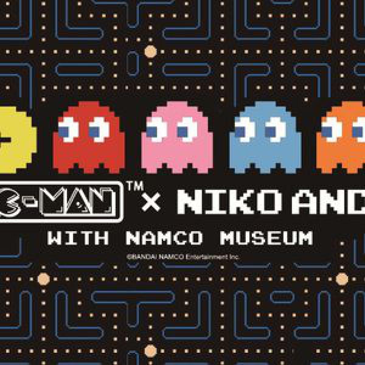 ニコアンドが人気ゲームとコラボ、パックマンをあしらったアイテムが登場