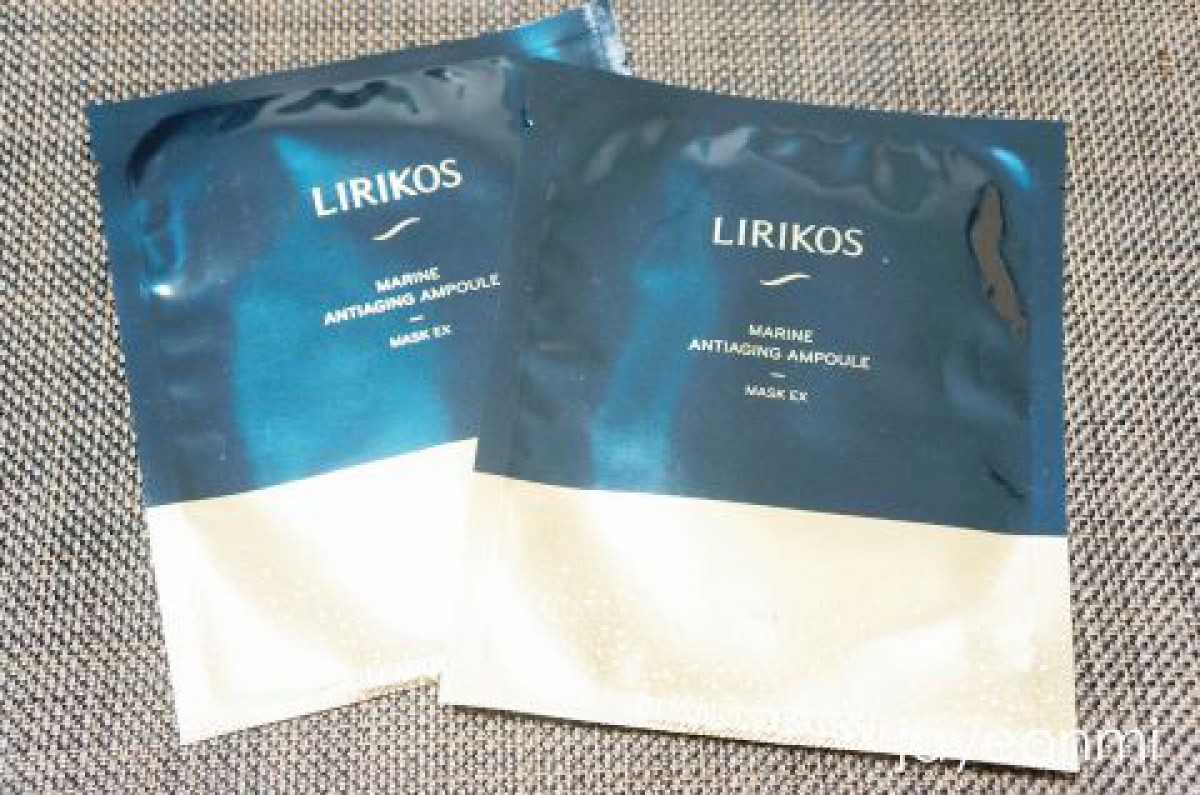 【LIRIKOS】納得の使用感♪スペシャルケアに、リリコスの新シートマスク☆