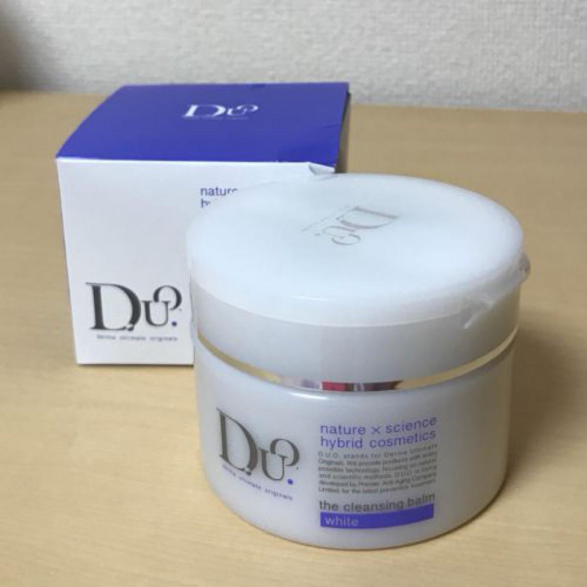 D.U.O. ザ クレンジングバーム ホワイト♡