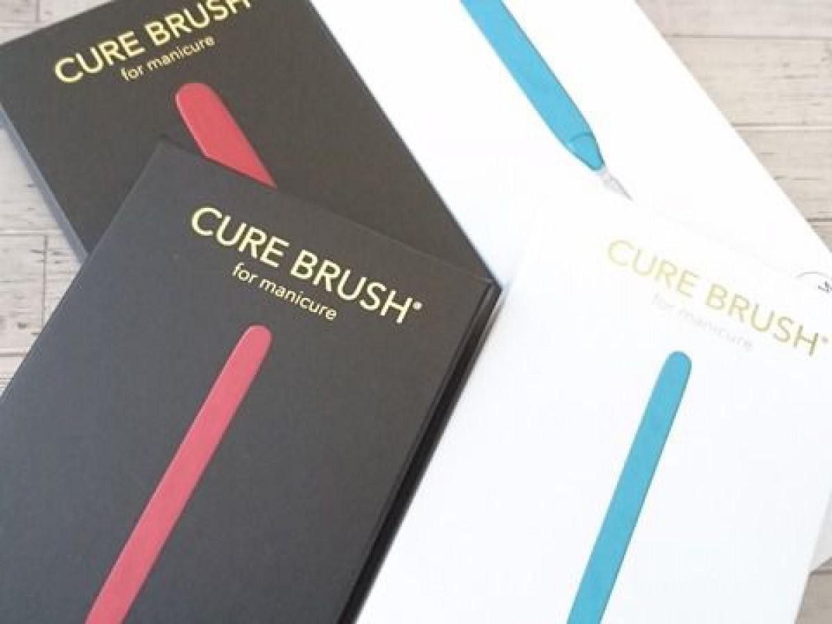 マニキュア専用ネイルブラシ cure brush