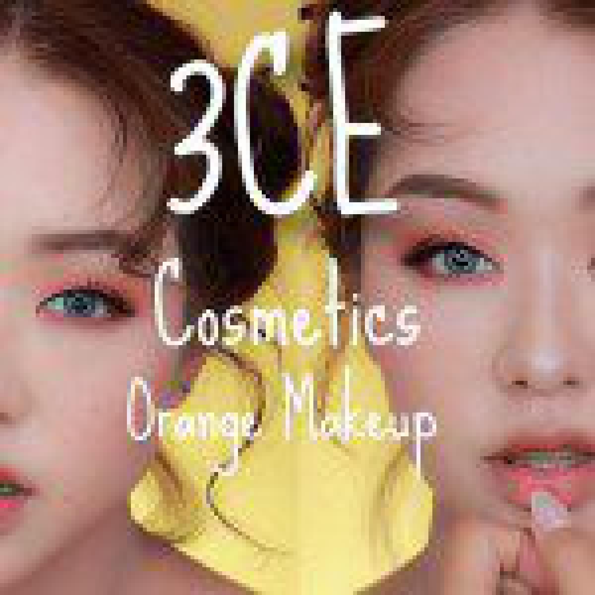 3CE縛りで夏のオレンジメイク!【韓国コスメ】3CE Cosmetics