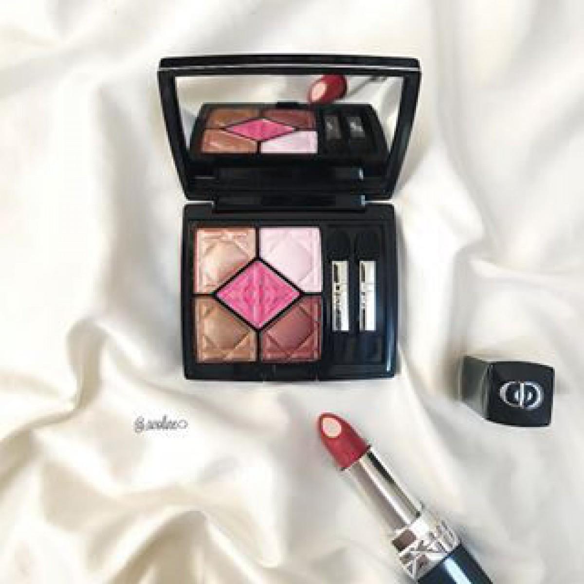 5色パレットをどう使いこなす?Diorのアイシャドウ、サンククルールに+の魔法
