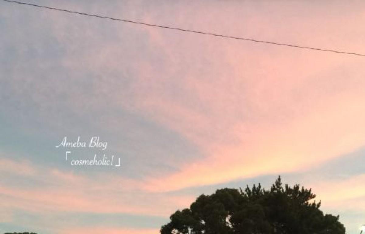 昨日見た空の色でメイク⭐️