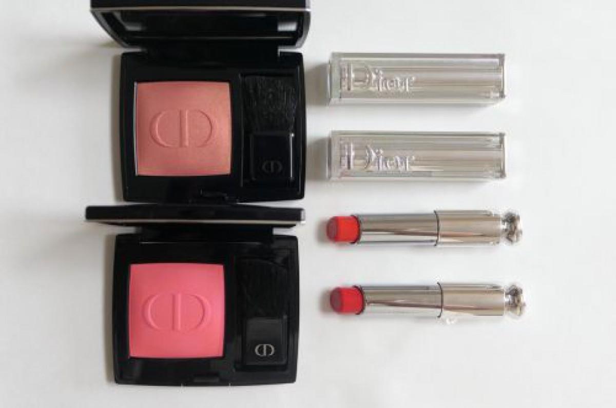 Diorで購入したチーク&リップの話!
