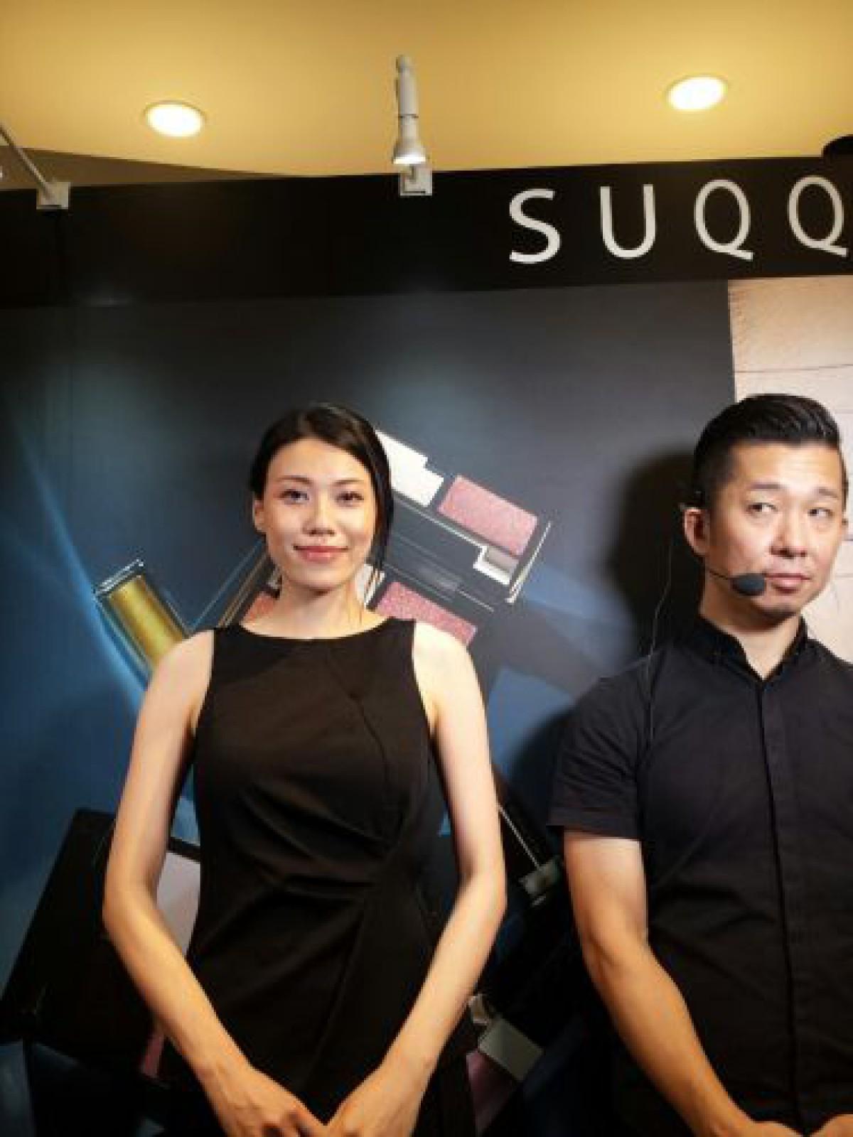 SUQQUのメイクショー