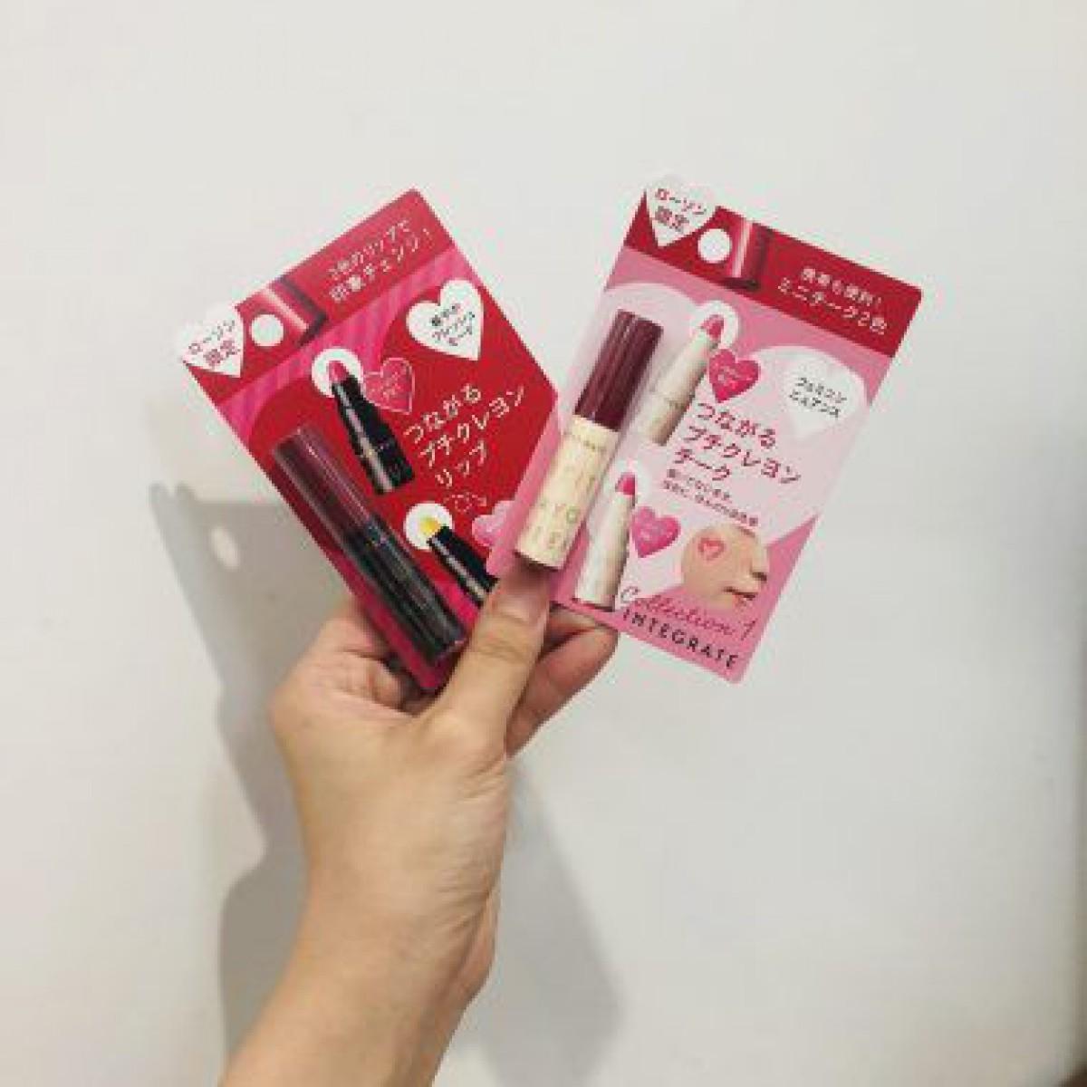新商品♡500円ローソンコスメのピンクリップが最強です!