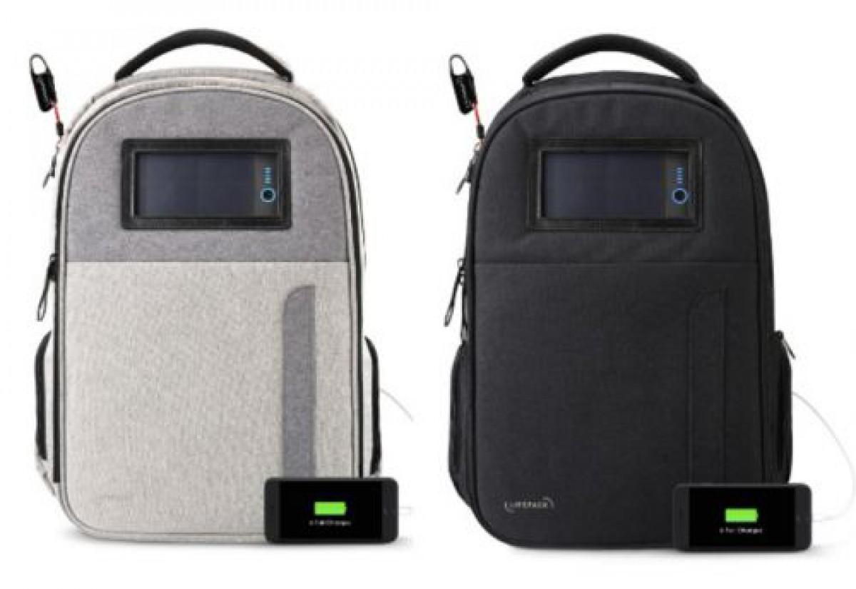 どこでもスマホを充電できるスマートなバックパック「LIFEPACK」|machi-ya weekly