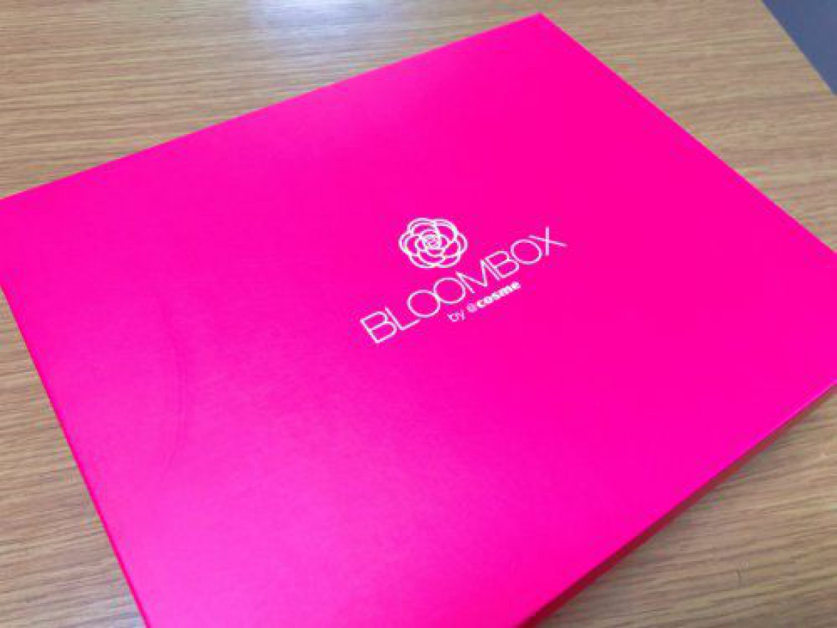 【BLOOMBOX2018年10月中身】GACKTの5000円コスメ現品入り【口コミ感想】