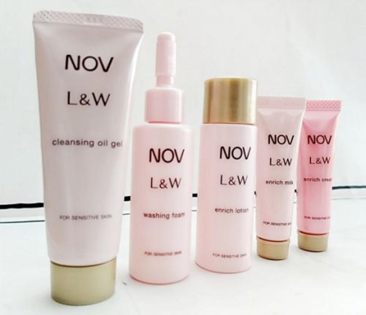 敏感肌でも攻めのエイジングケアが出来る‼NOV(ノブ)L&W シリーズトライアルセット