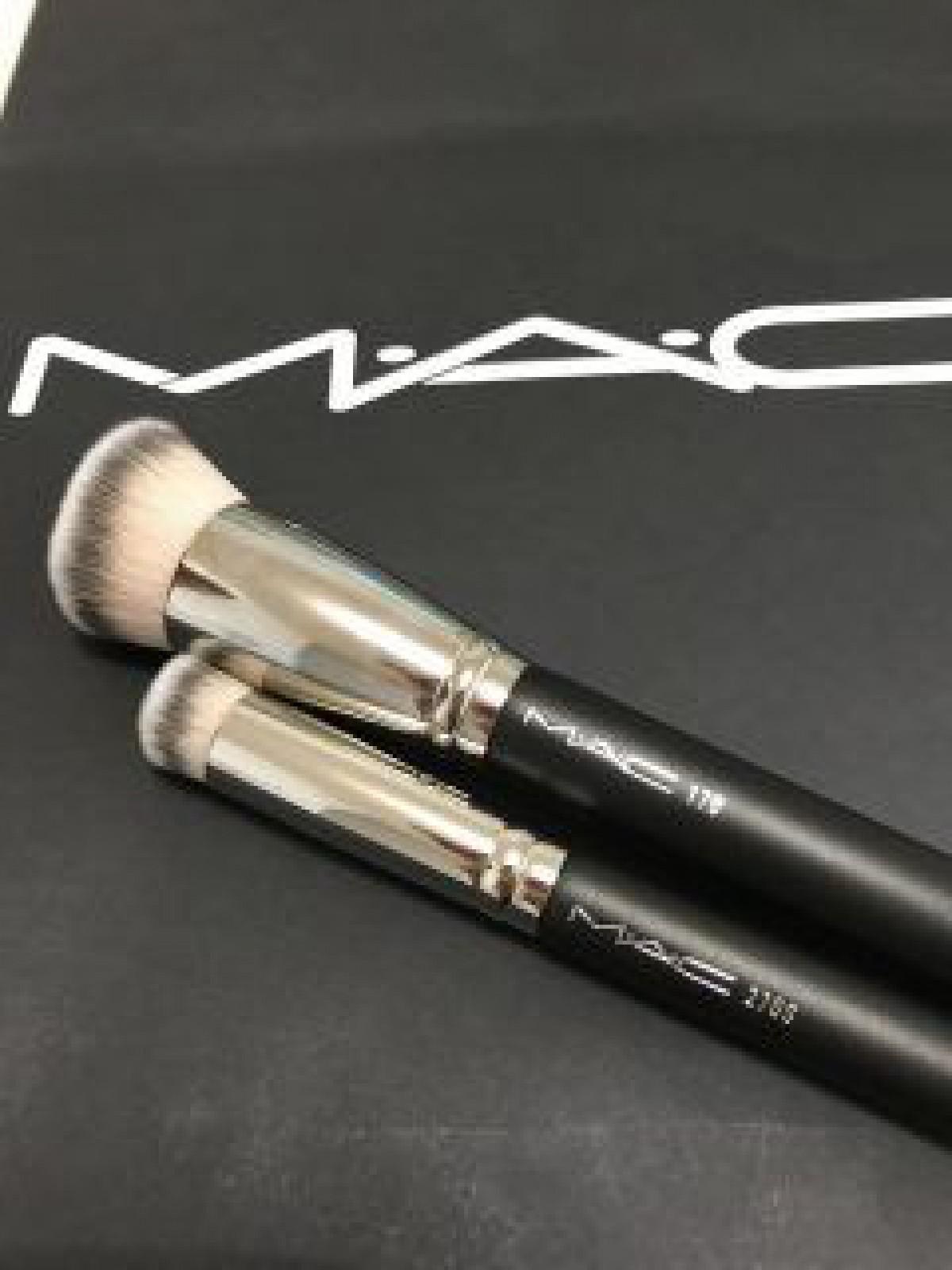 MAC人気ブラシの使い方や洗い方は?