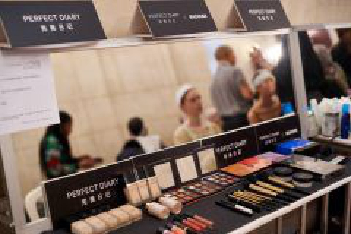 中国の化粧品ブランド「 Perfect Diary」、マーシャマーとコラボ