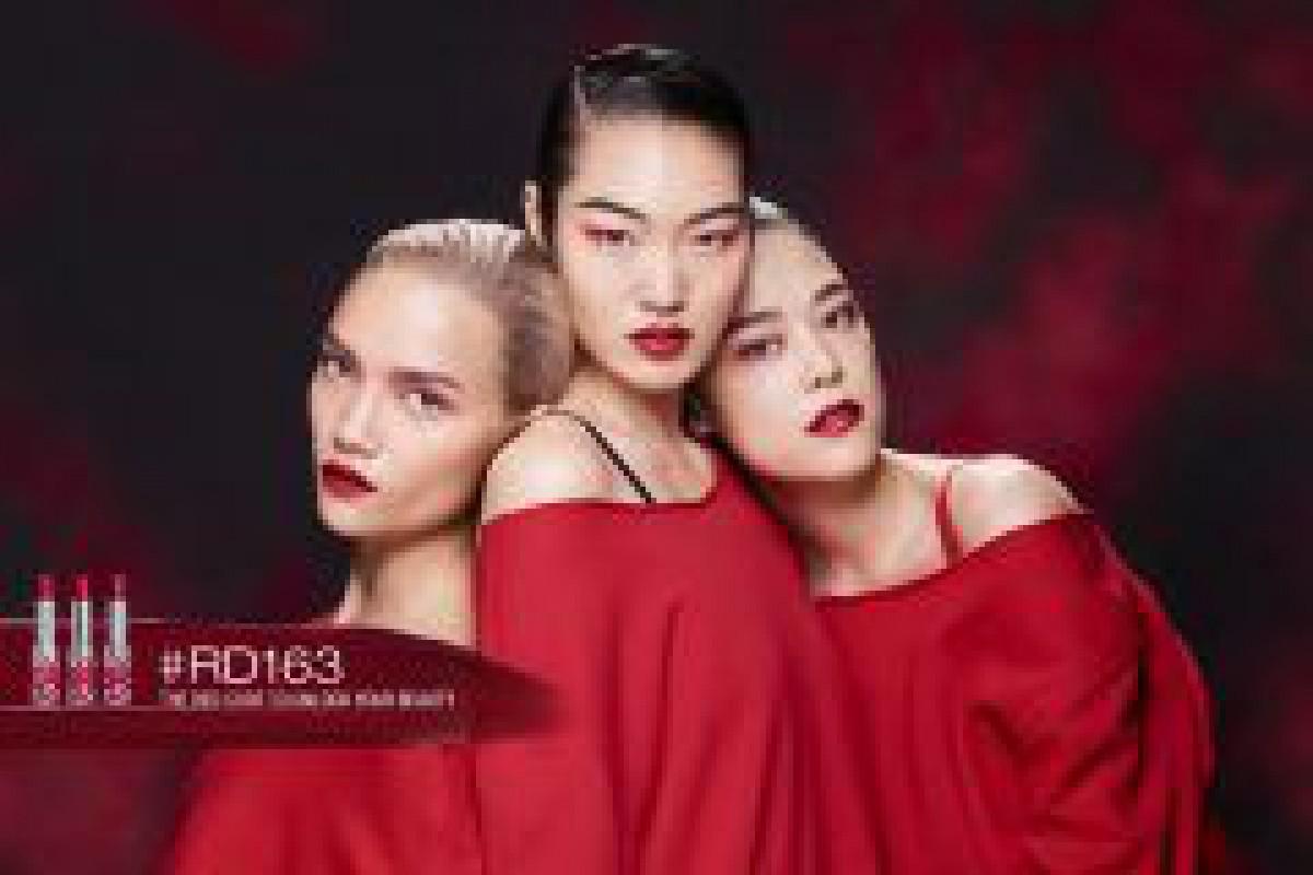 シュウ ウエムラからアジア人女性のために開発された赤リップ誕生
