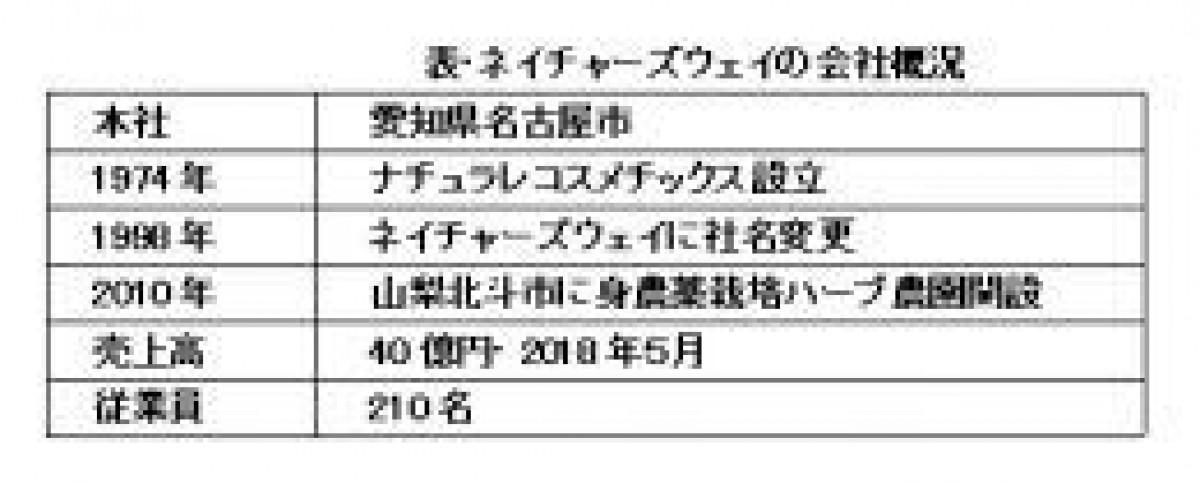 (76)ネイチャーズウェイの会社研究 ~オーガニックコスメの橋頭保を構築~(上)