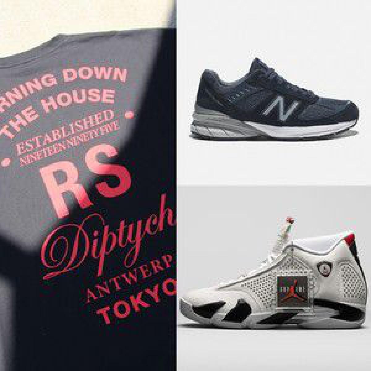 トゥモローランドが別注したラフ・シモンズTシャツ、ニューバランス「990v5」新色...【ストリートのマストバイ】