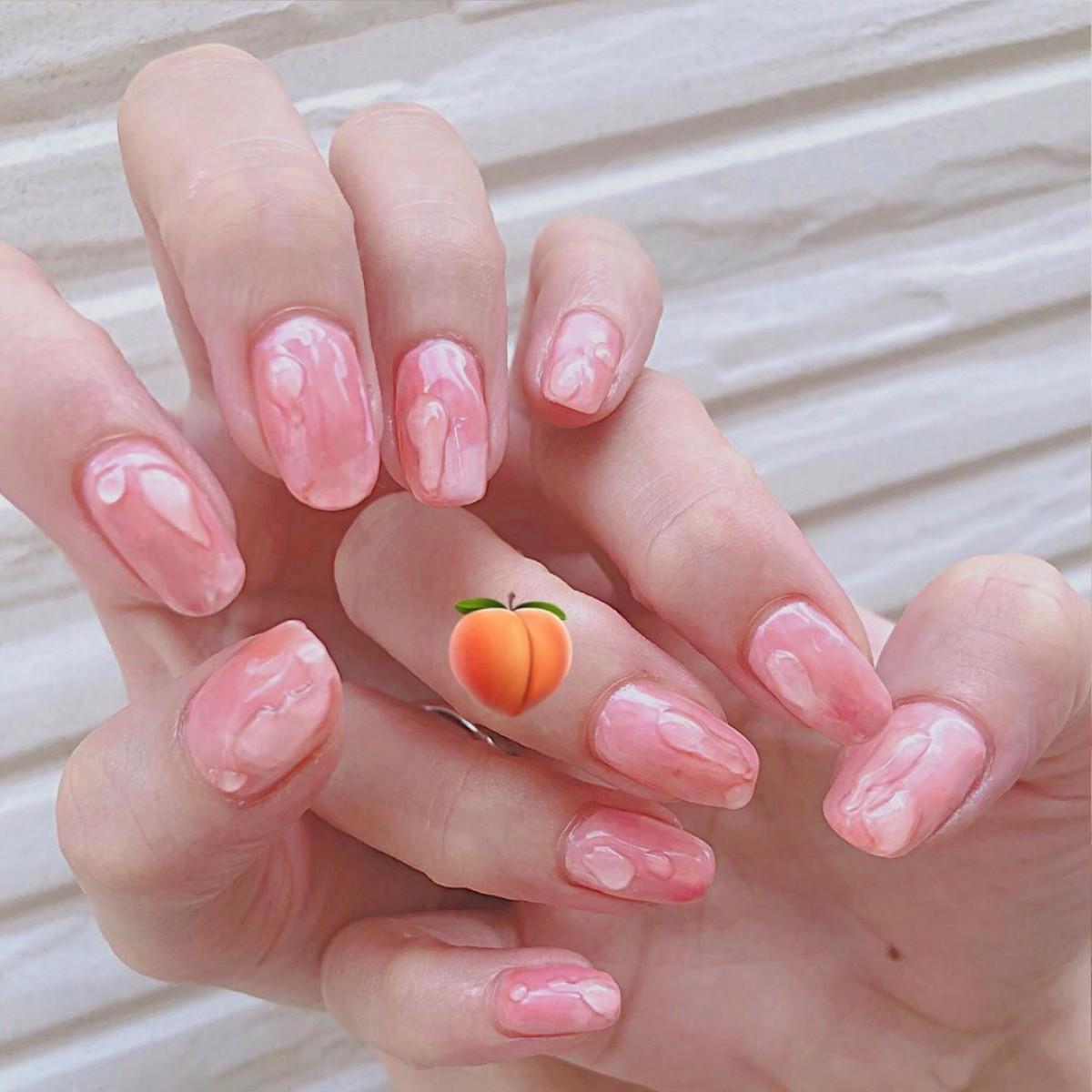 果汁100%をじゅわっと指先に♡フレッシュにちゅるんと弾けるフルーツネイル