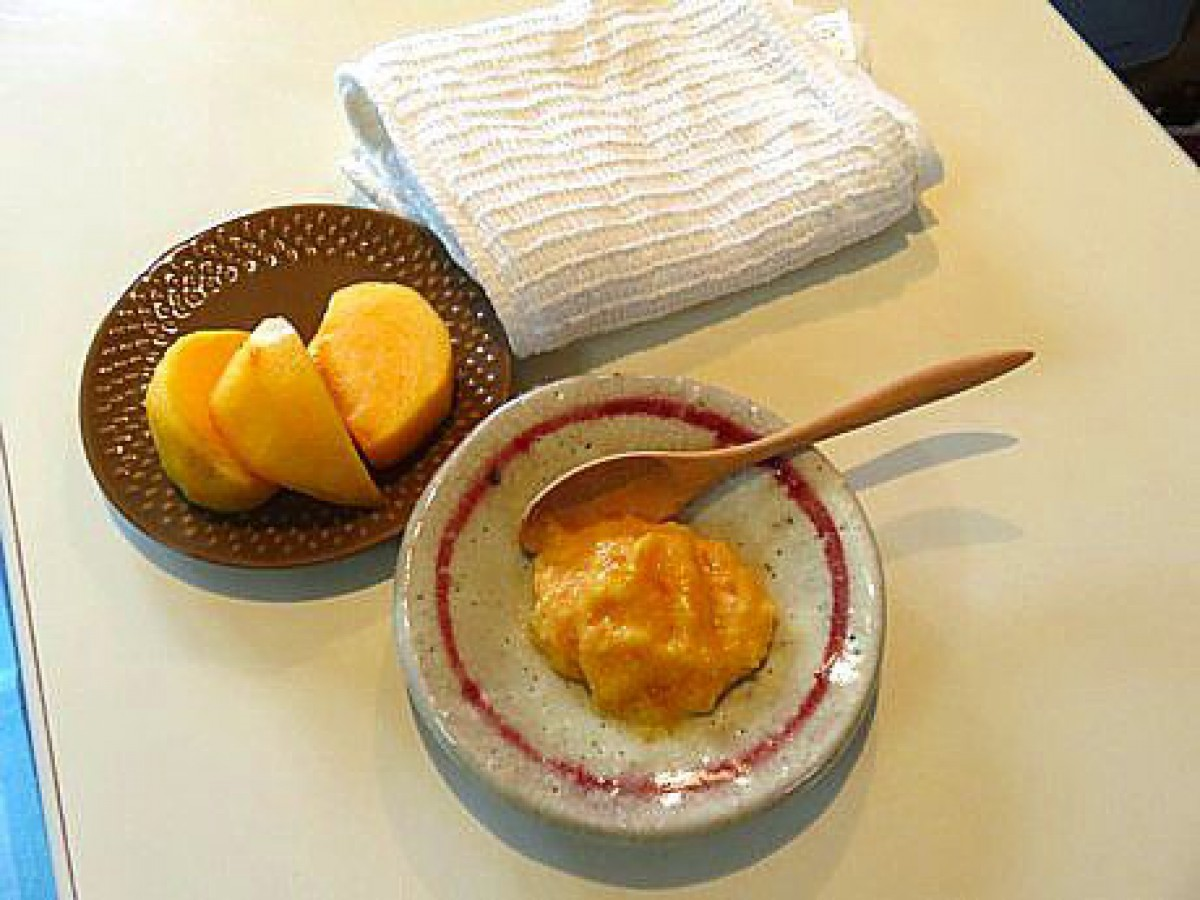 お肌ツルツルになる柿パックの作り方 ピーリング効果抜群お肌のくすみと乾燥にも効きます