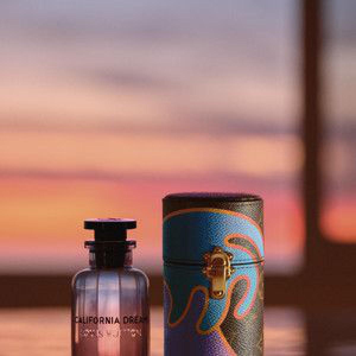 「ルイ・ヴィトン」新作香水はカリフォルニアのサンセットをイメージ、マンダリンやアンブレットシードを調香