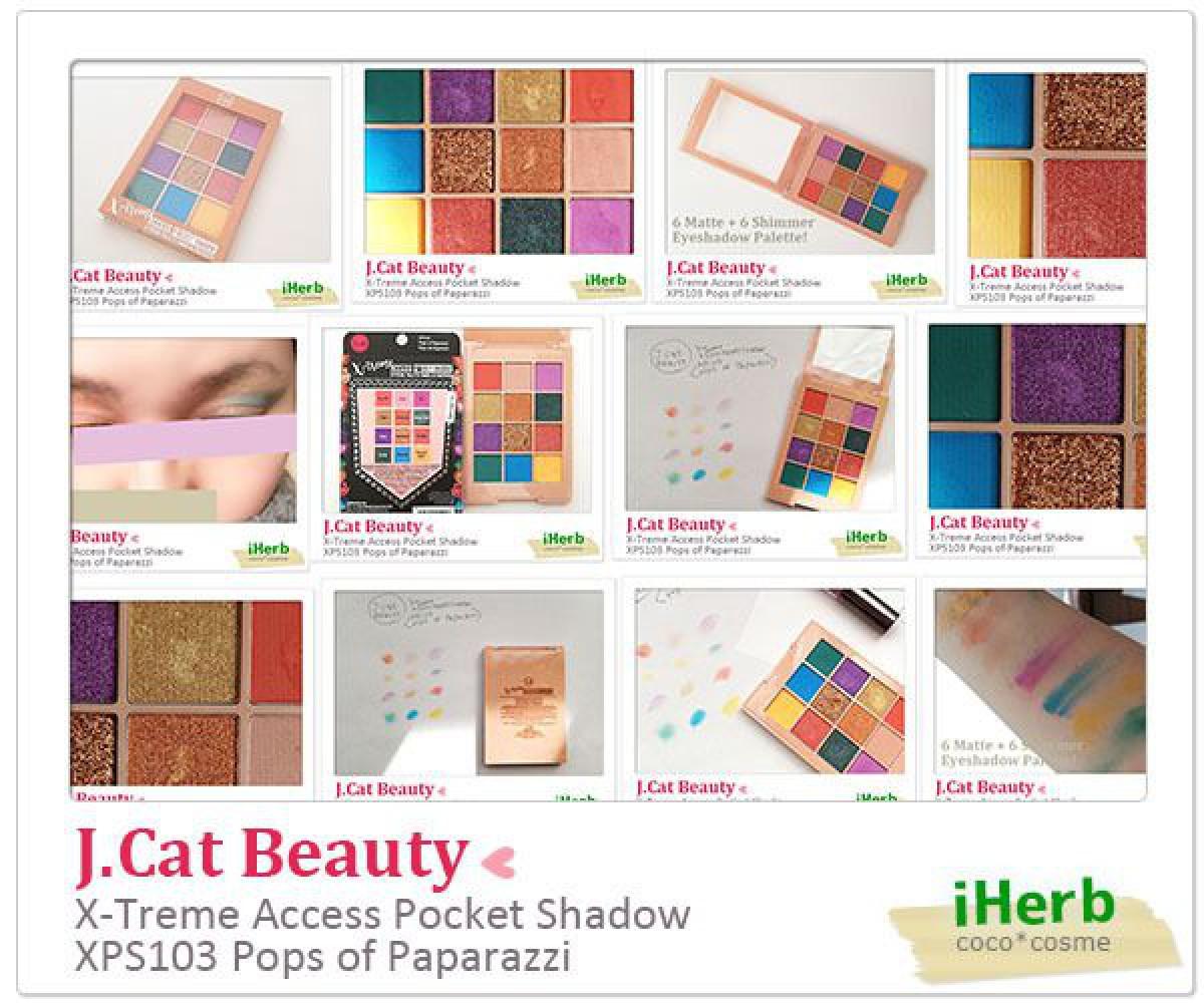 ★夏のカラーメイクにおすすめ★めちゃくちゃ安いのにかなり使えるJ.Cat Beautyの12色のアイシャドウパレット★J.Cat Beauty(ジェイキャット ビューティ) エクストリームアクセスポケットシャドウ XPS103 ポップスオブパパラッチ★J.Cat Beauty X-Treme Access Pocket Shadow XPS103 Pops of Paparazzi★