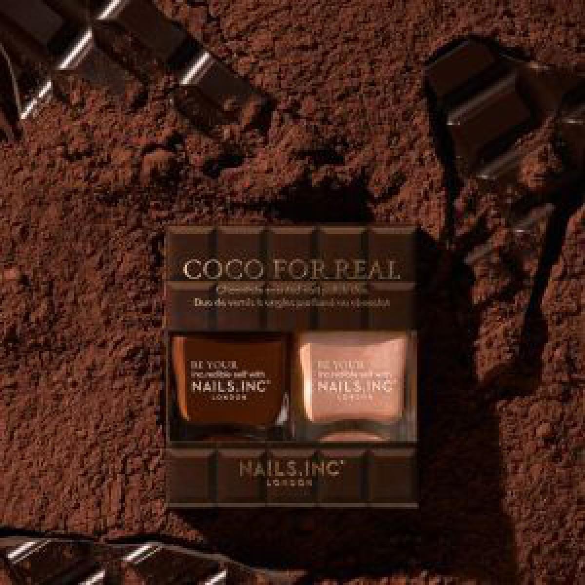 「ネイルズ インク」がブラウンカラーのコレクションを発売、チョコレートの香りつき