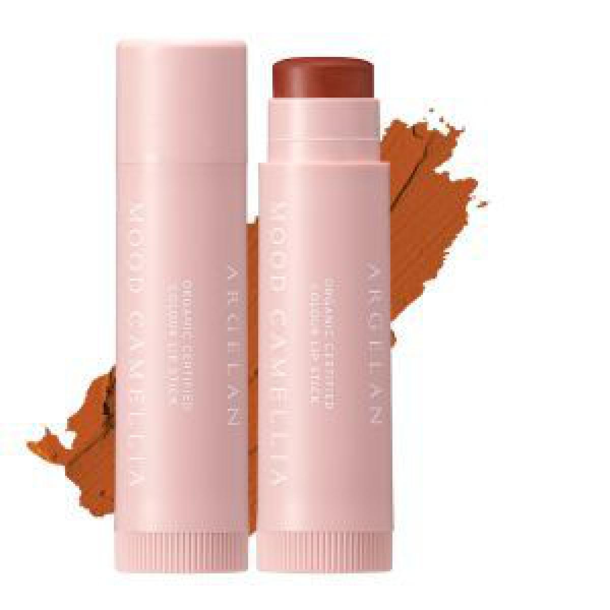 マツキヨ専売コスメ「アルジェラン」のリップから数量限定色が発売、秋らしいブラウンカラー