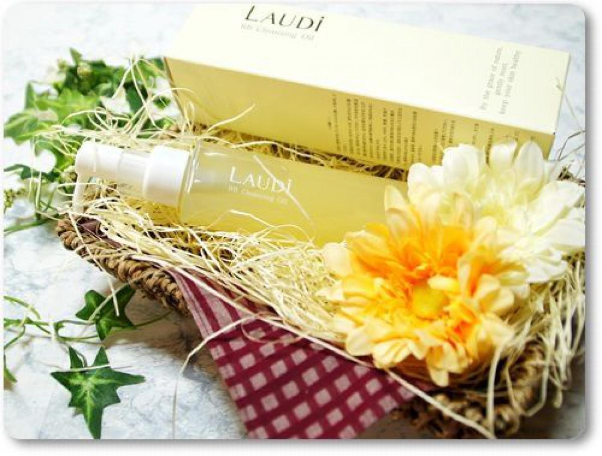 米ぬかオイル配合のクレンジングオイル  LAUDi RBクレンジングオイル