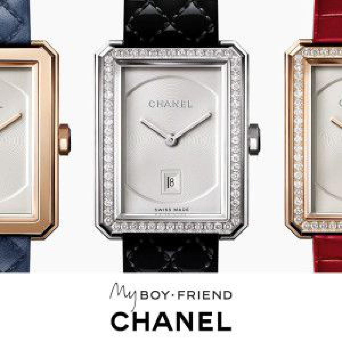 シャネルの時計「ボーイフレンド」がカスタマイズ可能に、新作ストラップコレクション展開