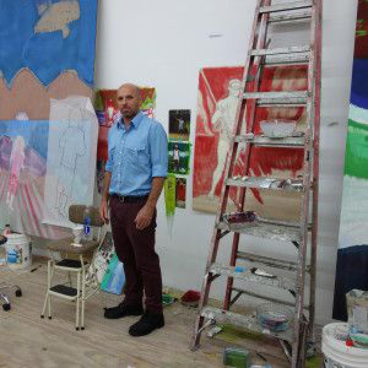 「ディオール」メンズ、2021-22年ウィンターコレクションは現代アーティストのピーター・ドイグとコラボ