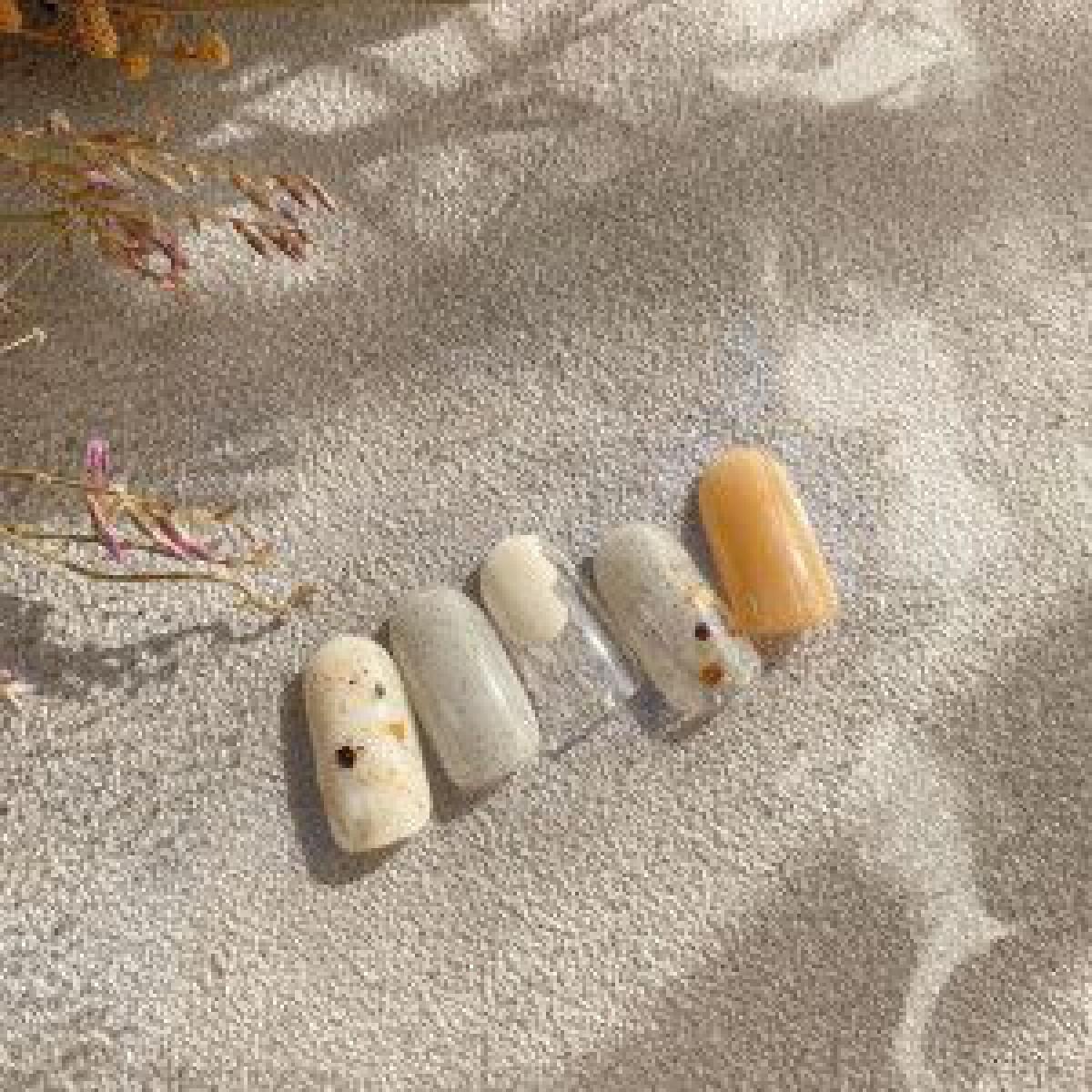 ネクストトレンド?砂のようなつぶつぶ感「サンディネイル」に注目