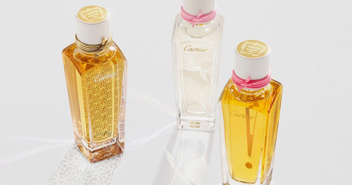 """【カルティエ】新作フレグランス  バラで喩えた""""香りの表現""""が素敵!"""