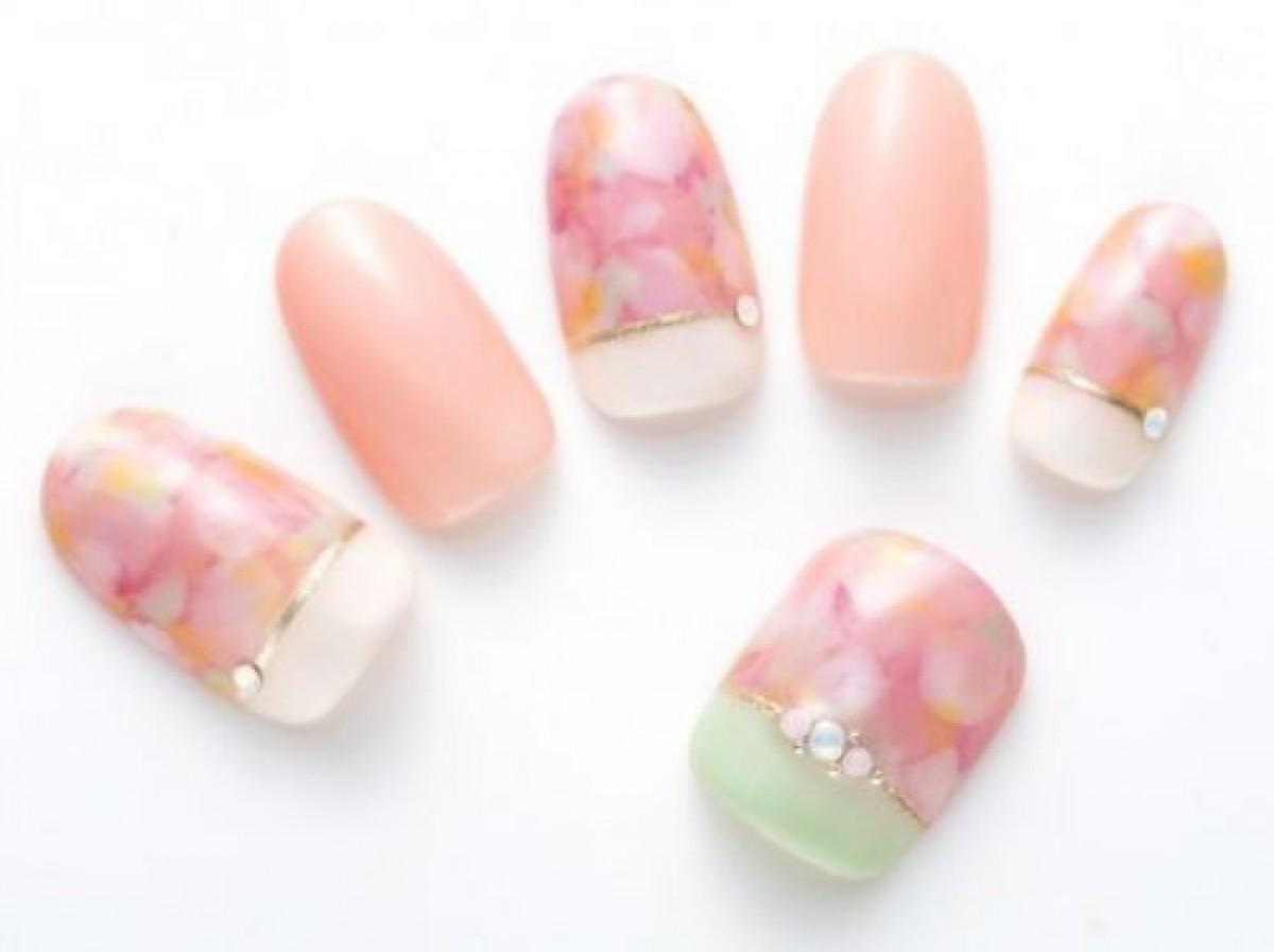 お花見で絶対褒められる!「桜」モチーフネイル10選